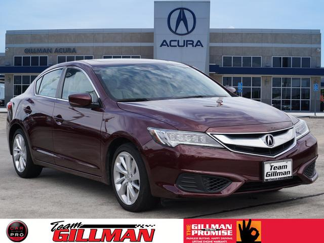 Pre-Owned 2016 Acura ILX TECHNOLOGY PLUS NAVI SUNROOF BLINDSPOT