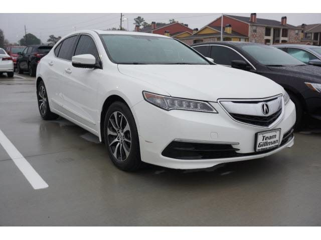 Pre-Owned 2016 Acura TLX TECH V6 NAVIGATION LEATHER PUSH START SUPER CLEAN WITH LOW MILES