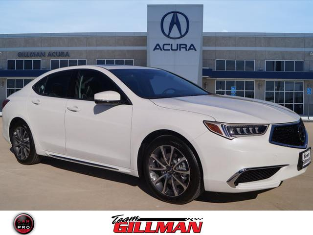 new 2018 acura tlx 3 5 v 6 9 at p aws with technology package v6 4dr