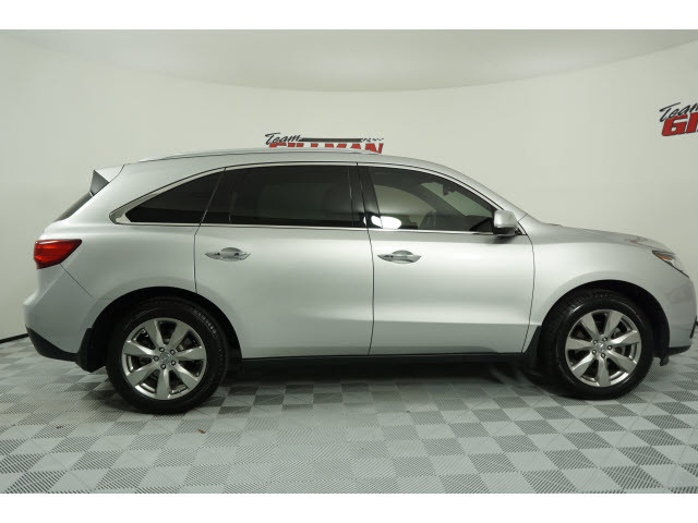 Pre-Owned 2014 Acura MDX Advance/Entertainment Pkg TV/DVD LEATHER SUNROOF NAVIGATION