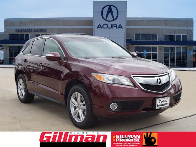 pre owned 2013 acura rdx tech 4dr suv w technology package in north houston a180883b gillman. Black Bedroom Furniture Sets. Home Design Ideas