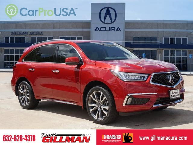 2019 Acura Mdx >> New 2019 Acura Mdx Advance 6p 4dr Suv W Advance Package In Houston