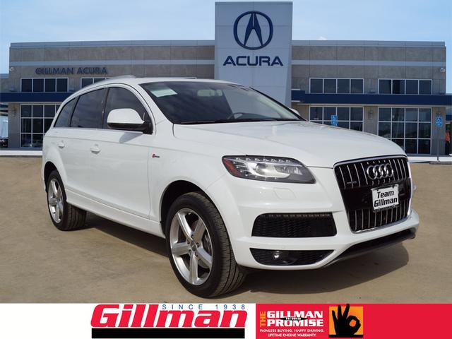 pre owned 2013 audi q7 3 0t sline awd 3 0t quattro s line. Black Bedroom Furniture Sets. Home Design Ideas