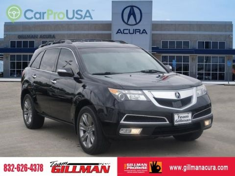 Pre-Owned 2013 Acura MDX Advance Pkg LEATHER INTERIOR SUNROOF NAVIGATION SYSTEM