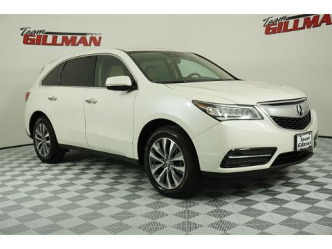 Pre-Owned 2016 Acura MDX w/Tech LEATHER SUNROOF NAVIGATION CERTIFIED PRE-OWNED