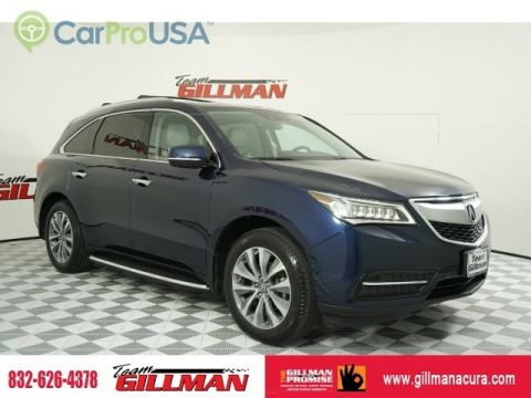 Pre-Owned 2016 Acura MDX w/Tech/AcuraWatch Plu TV/DVD LEATHER INTERIOR SUNROOF