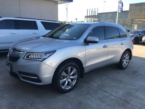 Pre-Owned 2014 Acura MDX Advance/Entertainment Pkg NAVIGATION SUNROOF DVD BLIND SPOTS FULLY LOADED