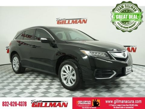 Pre-Owned 2017 Acura RDX LEATHER SUNROOF
