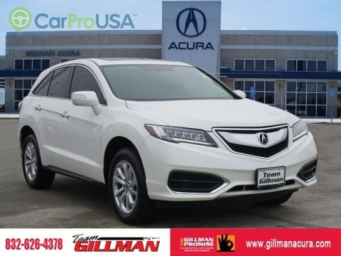 Pre-Owned 2017 Acura RDX LEATHER INTERIOR SUNROOF CERTIFIED PRE-OWNED